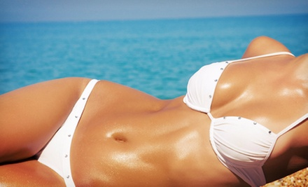 One or Three Natural Airbrush Tans at Natural Glo (Up to 57% Off)
