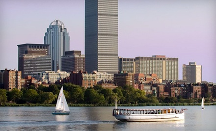 Charles River Tour or Sunset Cruise for One or Two from Charles Riverboat Company (Up to 41% Off)