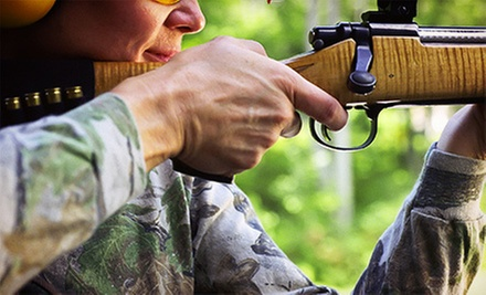 $39 for a Beginners' Shooting-Range Package with Three Firearms at Silverdale Gun Club ($95 Value)