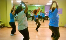 One, Three, or Five Intro to Sassy Steps Classes at Sassy Steps Stiletto Fitness (Up to 64% Off)