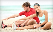 5 or 10 Fitness Classes at North Avenue Beach from CrossTown Fitness (Up to 81% Off)