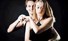 Dance Lessons for One or a Couple at Feel the Music Dance Studio (Up to 75% Off). Four Options Available.
