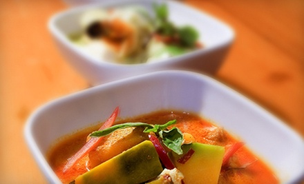 Prix Fixe Thai Dinner for Two or Four at Rambutan (Up to 56% Off)