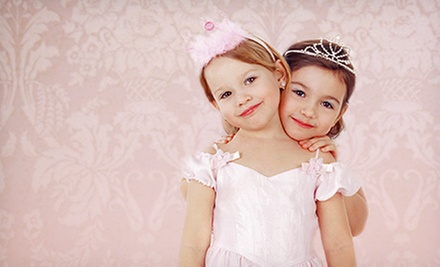 Glamour Playdate for Two or Four Kids at Darlings &amp; Divas of Amityville (Up to 56% Off)