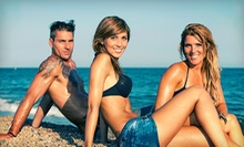 One or Two Custom Airbrush Tans at Simply Sunless (Up to 56% Off) 