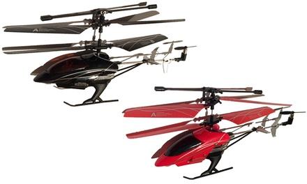 Helicóptero telecomandado disponível em três modelos diferentes desde 19,90 €