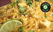 $12 for $25 Worth of Thai Dinner Fare and Drinks at Lime Leaf Thai Restaurant