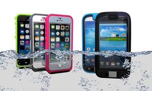 Otterbox Preserver Waterproof Case For Apple Iphone 5/5s Or Samsung Galaxy S4 For $29.99