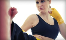 5 or 10 Kickboxing Classes from TryKickboxingNow.com (Up to 88% Off)