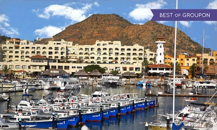 groupon daily deal - 4-Night Stay for Two with Dinner Cruise at Club Tesoro at Wyndham Cabo San Lucas Resort in Mexico