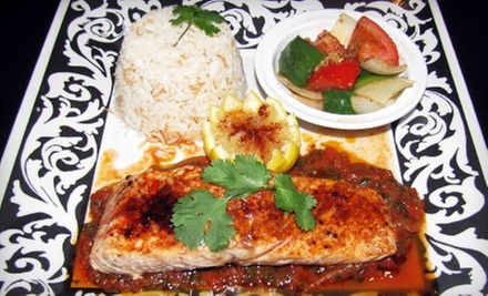 Lebanese Food for Two or Four at Sahara Lebanese Cuisine (Half Off)
