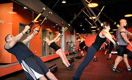 Group personal training sessions orangetheory fitness royal palm beach groupon for Orange theory palm beach gardens