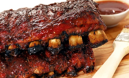 Barbecue for Two or Four at MoMo's BBQ & Grill (Up to 46% Off)