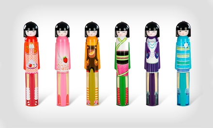 Chapéu-de-chuva Geisha Kimono Doll por 14,99€ ou dois por 26,99€
