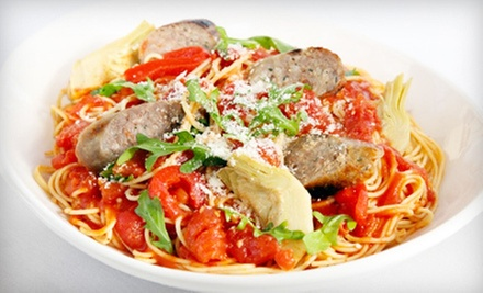 $10 for Two Vouchers, Each Good for $10 Off Your Bill at Cini ($20 Value)