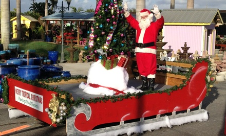Enchanted Garden and Sleigh Ride Experience for Two or Four at Flamingo Road Nursery (Up to 50% Off)