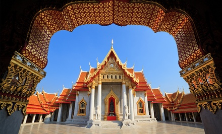 ✈ 9-Day Tour of Thailand with Airfare from Gate 1 Travel. Price per Person Based on Double Occupancy.