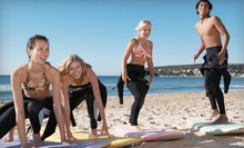 Private Surf Lesson with Rental Equipment for One or Two at Corky Carrolls Surf School (Up to 59% Off)