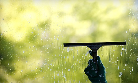 Interior and Exterior Window Washing for Up to 20 or 35 Windows from A-S Window Cleaning Service (Up to 72% Off)