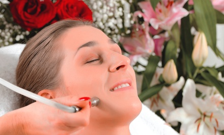 One, Two, or Three Microdermabrasion Sessions with Facial Toning at Ruby James Salon (Up to 62% Off)
