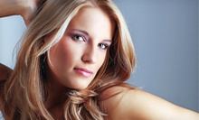 Haircut with Style, Conditioning Treatment, and Partial or Full Highlights at The Bubble Room Salon (Up to 73% Off)