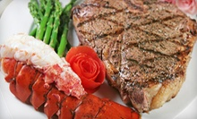 $45 for Three Separate Packages of Gourmet Steak, Seafood, or Fish Delivered from Les Aliments O' Max (Up to $210 Value)