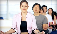 5 or 10 Yoga Boot-Camp Classes at Yoga A Gogo (Up to 51% Off)