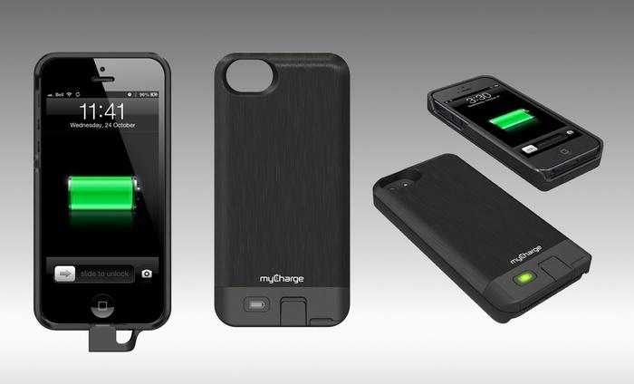 Mycharge Freedom 2 000 Mah Iphone 5 5s Battery Case Groupon