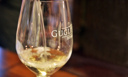 $14 for a Wine Tasting for Up to Four and a $9.95 Credit Toward Wines at Emilio Guglielmo Winery ($29.95 Value)