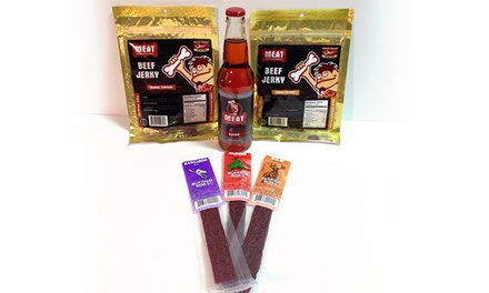 Jerky, Bacon, and Barbecue Goods at Meat Maniac (50% Off). Two Options Available.