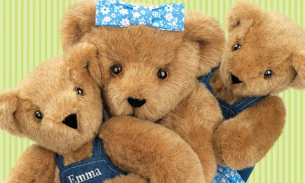 Specially-CraftedTeddy Bears from Vermont Teddy Bear (Up to 51% Off). Two Options Available.