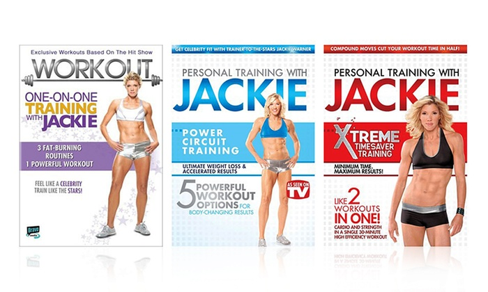 Jackie Warner 3 Dvd Fitness Bundle