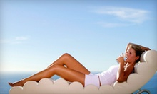 One or Three Airbrush Tans at Glo Face & Body in Clovis (Up to 53% Off)