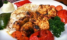 $10 for $20 Worth of Mediterranean Cuisine at La Marsa 