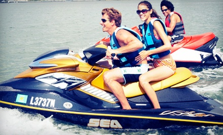 One-Hour Jet-Ski Ride for One or Two from Parasail Hilton Head (Up to 46% Off)