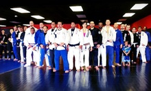 Five Classes or One Month Unlimited Jiu-Jitsu Classes at Cobra Brazilian Jiu-Jitsu (Up to 76% Off)