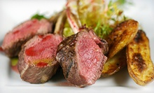 French Dinner for Two or Four at Caf Rgalade (Up to 52% Off)