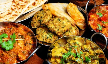 Indian Food at Jewel of India (Up to 50% Off). Two Options Available.