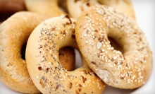 13 Bagels with Cream Cheese and Coffee or $10 for $25 Worth of Bagels and Sandwiches at Bagelicious Cafe & Gourmet Deli
