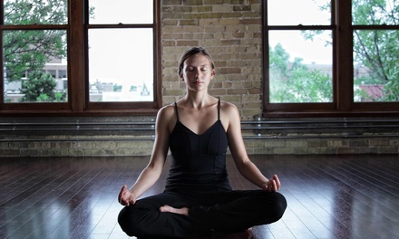 $45 for One Month of Unlimited Yoga at The Studio West ($140 Value)