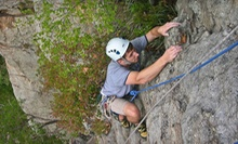 Full- or Half-Day Guided Outdoor-Rock-Climbing Outing at Lookout Mountain from Rocky Top Guides (Up to 78% Off)