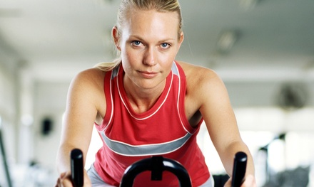 Five Spinning Classes or Two Personal Training Sessions at Vie Fitness & Spa (Up to 58% Off)
