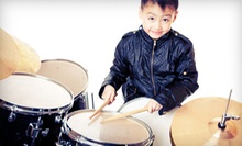 Four or Eight Weeks of Drum Lessons or Eight Sessions of Rock Band Camp at Donn Bennett Drum Studio (Up to 53% Off)