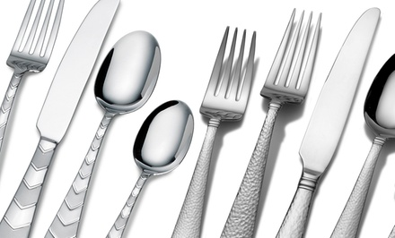groupon daily deal - Towle Everyday 20-Piece Flatware Set. Multiple Designs Available. Free Returns.