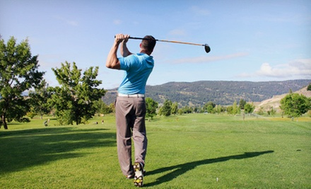 18-Hole Round of Golf with Cart Rental for Two on Weekday or Weekend at Cedar Valley Golf Course (Half Off)