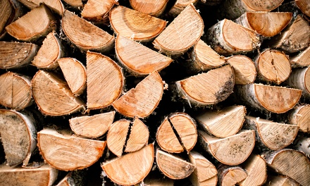 $20 for Full Rack of Firewood at S&H Landscape Supplies & Recycling ($40 Value)