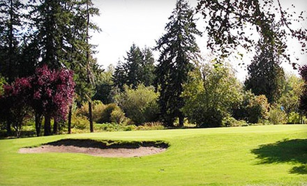 9- or 18-Hole Round of Golf for Two or Four with Cart Rental at St. Helens Golf Course in Warren (Up to 57% Off)