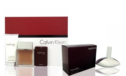 Calvin Klein Euphoria Fragrance for Men or Women or Gift Set for Men for $39.99 or $54.99