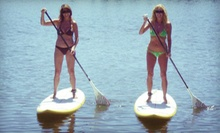 Two-Hour Canoe, Kayak, or Standup-Paddleboard Rental at Captain John's Fawn Harbor &amp; Marina in Fawnskin (Up to Half Off)