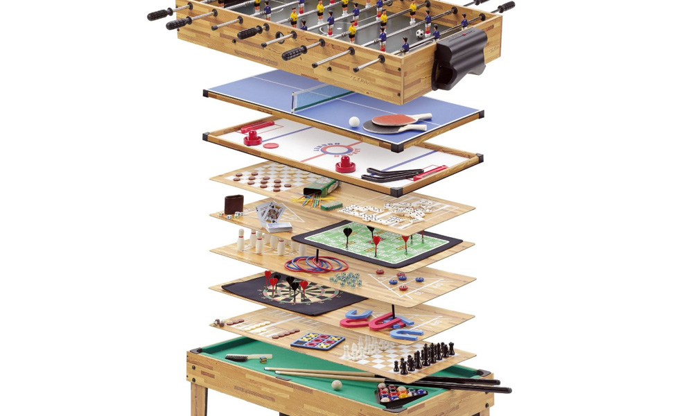 34 in 1 games table groupon goods for 12 in 1 game table groupon